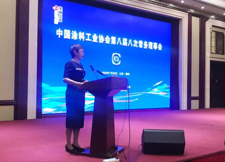 本集團董事長出席中國涂料工業協會第八屆八次常務理事會